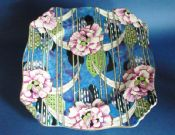 "Vintage Grimwades Royal Winton 'Carnation' Chintz Ascot 9"" Cake Plate c1950 #2 (Sold)"